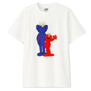 Uniqlo x Kaws Sesame Street BFF Elmo T-Shirt